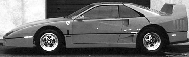Pontiac Fiero - Ferrari F40 Replica_shreddermag