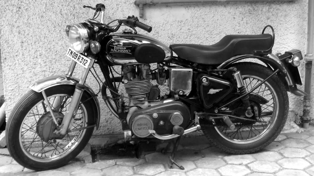 Royal Enfield Bullet Machismo 350_shreddermag