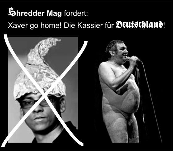 Die Kassierer für Deutschland_shreddermag